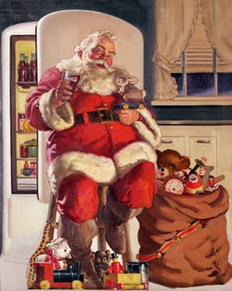 Santa's Morbidly Obese