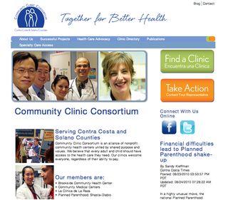 New 3C Homepage